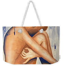 Nude In The Rain Weekender Tote Bag
