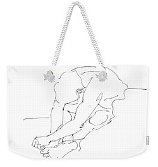 Nude Male Drawings 8 Weekender Tote Bag