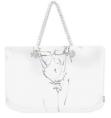 Nude Male Drawings 9 Weekender Tote Bag