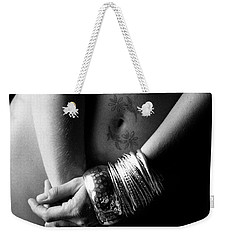Nude Tattoo And Bangles Weekender Tote Bag