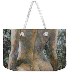 Nude Weekender Tote Bag by Vali Irina Ciobanu