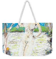 Nude With Bird Weekender Tote Bag