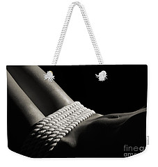 Nude Woman Body And Ropes Weekender Tote Bag