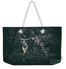 Nude Woman With Lots Of Bubbles Weekender Tote Bag