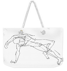 Nude_male_drawings_23 Weekender Tote Bag