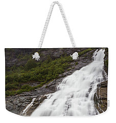 Weekender Tote Bag featuring the photograph Nugget Falls, Alaska by Ed Clark