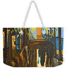 Nuit De Pluie Weekender Tote Bag by Donna Blossom