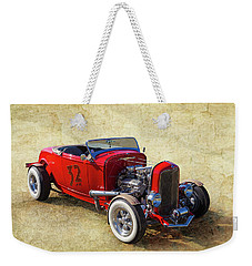 Weekender Tote Bag featuring the photograph Number 32 by Keith Hawley