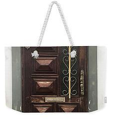Number 32 Weekender Tote Bag by Kelly Hazel