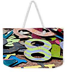 Number 8 Weekender Tote Bag