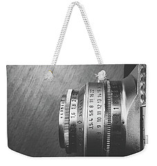 Weekender Tote Bag featuring the photograph Numbers by Ivy Ho