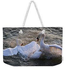 Nuptial Dance Weekender Tote Bag
