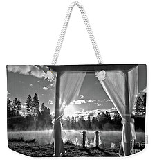 Nuptials Weekender Tote Bag by Julia Hassett