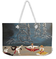 Nutcrackers Dance Of Russian Cossacks Weekender Tote Bag