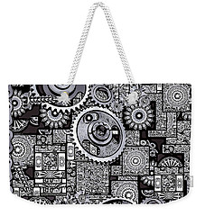 Nuts And Bolts Weekender Tote Bag