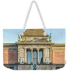 Weekender Tote Bag featuring the photograph Ny Carlsberg Glyptotek In Copenhagen by Antony McAulay