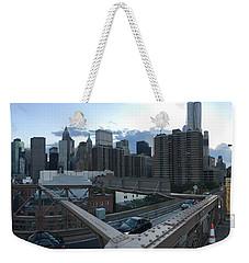 NYC Weekender Tote Bag by Ashley Torres