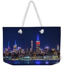 Nyc At The Blue Hour Weekender Tote Bag