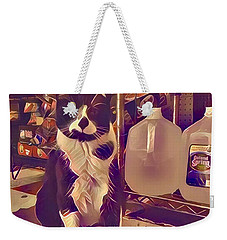 Nyc Bodega Cat Weekender Tote Bag