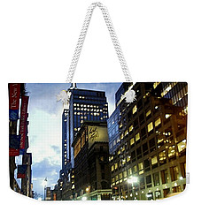 Nyc Fifth Ave Weekender Tote Bag