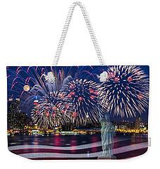 Nyc Fourth Of July Celebration Weekender Tote Bag