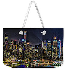 Weekender Tote Bag featuring the photograph NYC by Theodore Jones