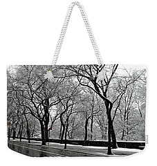 Nyc Winter Wonderland Weekender Tote Bag