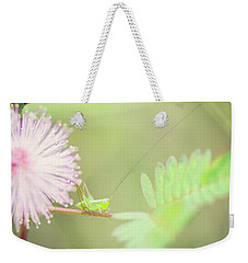 Weekender Tote Bag featuring the photograph Nymph by Heather Applegate