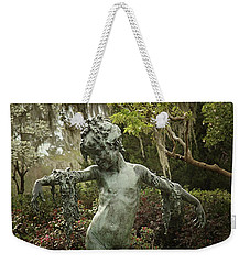 Weekender Tote Bag featuring the photograph Wood Nymph by Jessica Brawley