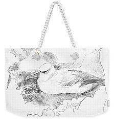 New Zealand White-capped Mollymawk Weekender Tote Bag