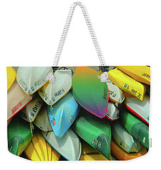 O Row You Didn't Weekender Tote Bag