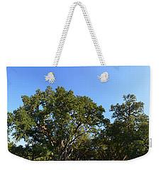 Oak Alley Plantation Panoramic Weekender Tote Bag