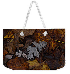 Oak And Maple Leaves Weekender Tote Bag