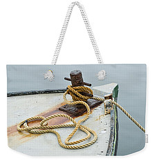 Oak Bluffs Fishing Boat Weekender Tote Bag