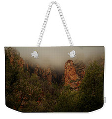 Weekender Tote Bag featuring the photograph Oak Creek Canyon Arizona by Broderick Delaney
