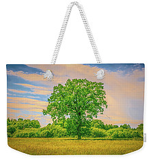 Weekender Tote Bag featuring the photograph Oak Gaeddeholm.  by Leif Sohlman
