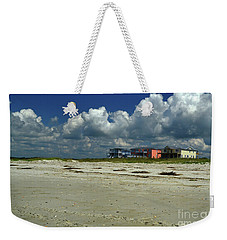 Oak Island Beach Houses Weekender Tote Bag