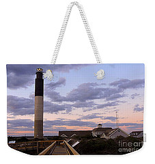 Oak Island Lighthouse Weekender Tote Bag