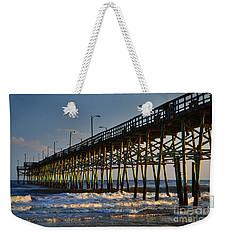 Oak Island Pier 2015 Weekender Tote Bag
