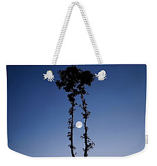 Weekender Tote Bag featuring the photograph Oak Kissing by Bess Hamiti
