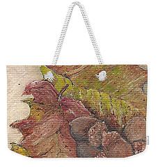 Oak Leaves Weekender Tote Bag