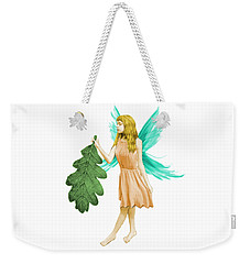 Oak Tree Fairy With Oak Leaf Weekender Tote Bag