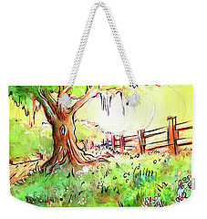 Oak Tree Hill Weekender Tote Bag