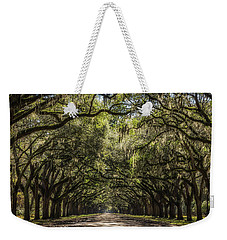 Oak Tree Tunnel #2 Weekender Tote Bag