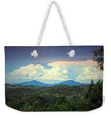 Oakrun Thunderstorm Weekender Tote Bag by Joyce Dickens
