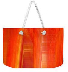 Oange Storm  Weekender Tote Bag