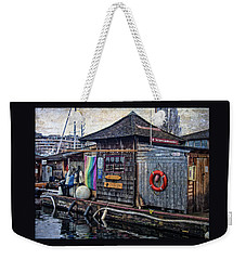 Weekender Tote Bag featuring the photograph Oarhouse by Thom Zehrfeld