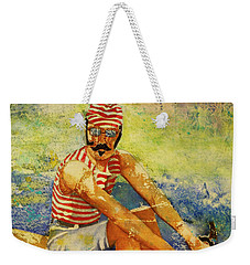 Oarsman Weekender Tote Bag by Cynthia Powell