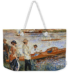 Oarsmen At Chatou Weekender Tote Bag