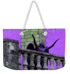 Oasis Angel #6112_b Balcony View Weekender Tote Bag